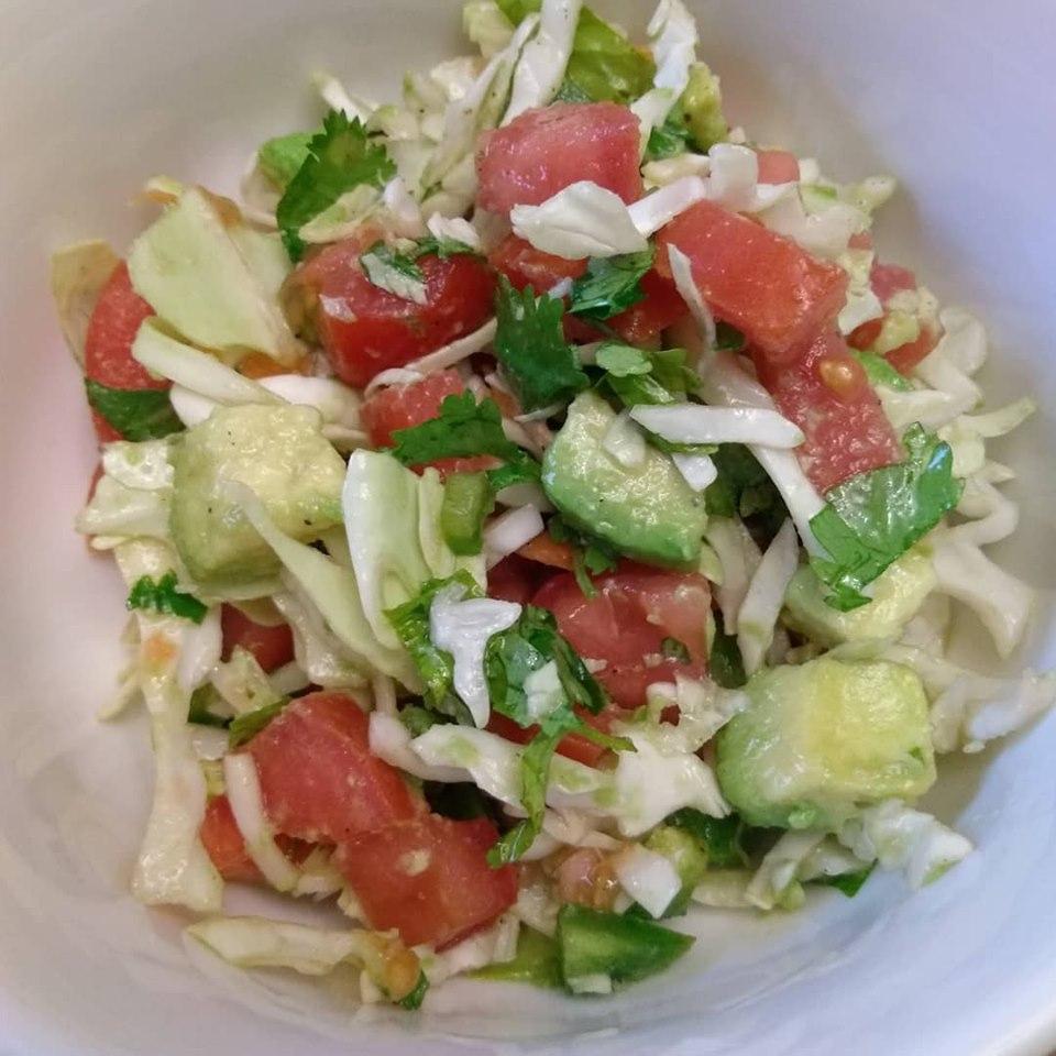 Viva Mexico cabbage salad